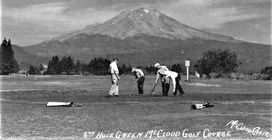 Historic golf photo