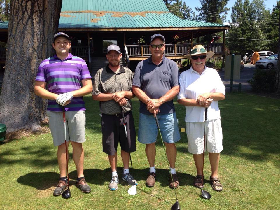Men Golfers